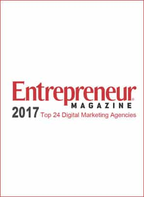 Entreprenuer Magazine Top 24 Digital Marketing Companies 2017